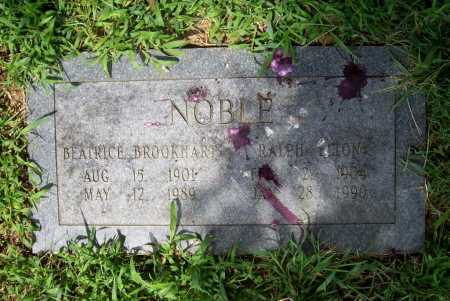 BROOKHART NOBLE, BEATRICE - Benton County, Arkansas | BEATRICE BROOKHART NOBLE - Arkansas Gravestone Photos