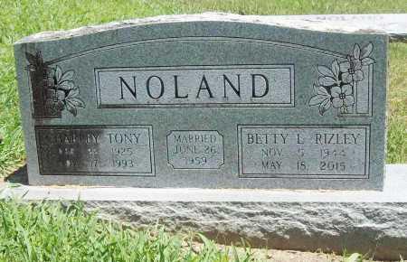 NOLAND, CHARLEY TONY - Benton County, Arkansas   CHARLEY TONY NOLAND - Arkansas Gravestone Photos