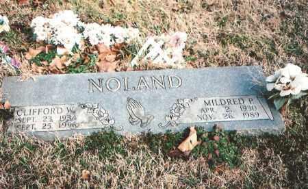 NOLAND, MILDRED P. - Benton County, Arkansas   MILDRED P. NOLAND - Arkansas Gravestone Photos