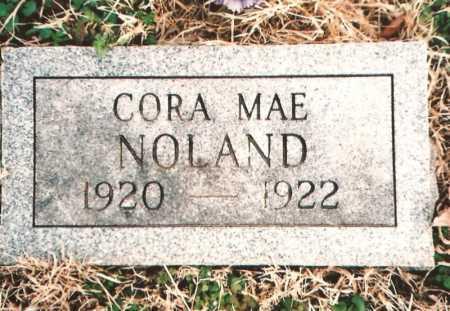 NOLAND, CORA MAE - Benton County, Arkansas | CORA MAE NOLAND - Arkansas Gravestone Photos