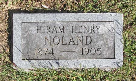 NOLAND, HIRAM HENRY - Benton County, Arkansas   HIRAM HENRY NOLAND - Arkansas Gravestone Photos