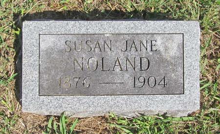 NOLAND, SUSAN JANE - Benton County, Arkansas | SUSAN JANE NOLAND - Arkansas Gravestone Photos