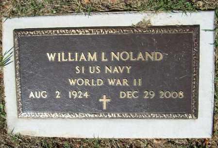 NOLAND (VETERAN WWII), WILLIAM LESTER - Benton County, Arkansas | WILLIAM LESTER NOLAND (VETERAN WWII) - Arkansas Gravestone Photos