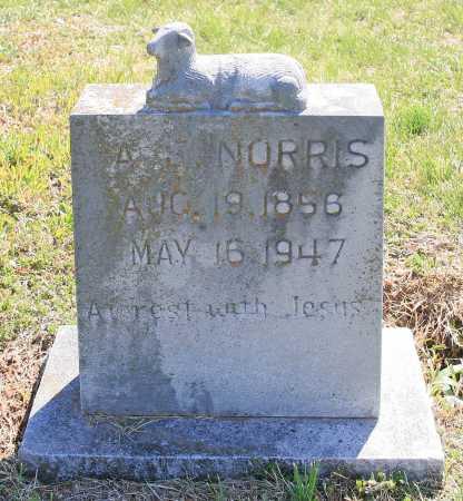 NORRIS, A. E. - Benton County, Arkansas | A. E. NORRIS - Arkansas Gravestone Photos