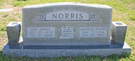 NORRIS, GEORGE FLOYD - Benton County, Arkansas | GEORGE FLOYD NORRIS - Arkansas Gravestone Photos