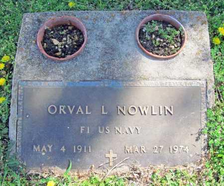 NOWLIN (VETERAN), ORVAL L - Benton County, Arkansas | ORVAL L NOWLIN (VETERAN) - Arkansas Gravestone Photos