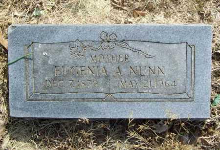 NUNN, EUGENIA A. - Benton County, Arkansas   EUGENIA A. NUNN - Arkansas Gravestone Photos