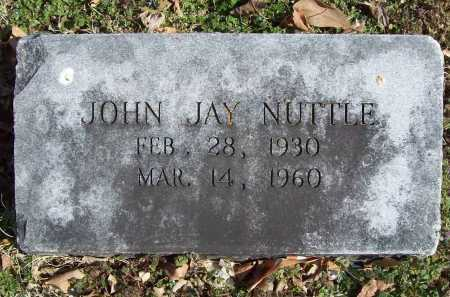 NUTTLE, JOHN JAY - Benton County, Arkansas | JOHN JAY NUTTLE - Arkansas Gravestone Photos