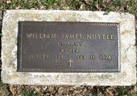 NUTTLE (VETERAN KOR), WILLIAM JAMES - Benton County, Arkansas | WILLIAM JAMES NUTTLE (VETERAN KOR) - Arkansas Gravestone Photos