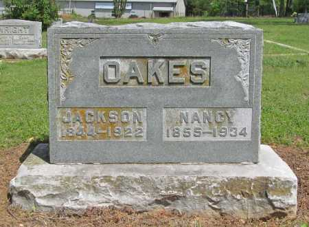 OAKES, JACKSON - Benton County, Arkansas | JACKSON OAKES - Arkansas Gravestone Photos