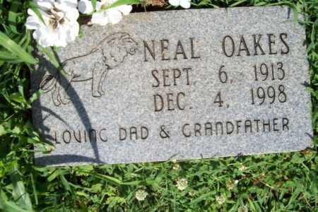 OAKES, NEAL - Benton County, Arkansas | NEAL OAKES - Arkansas Gravestone Photos