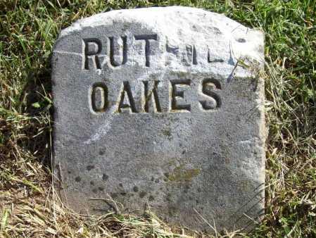 OAKES, RUTHIE - Benton County, Arkansas | RUTHIE OAKES - Arkansas Gravestone Photos