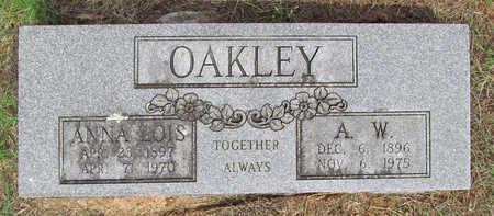 OAKLEY, ALFORD W - Benton County, Arkansas | ALFORD W OAKLEY - Arkansas Gravestone Photos