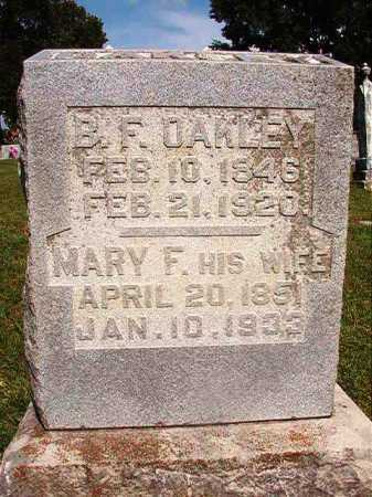 HART OAKLEY, MARY FRANCES - Benton County, Arkansas | MARY FRANCES HART OAKLEY - Arkansas Gravestone Photos