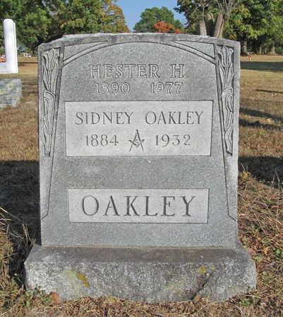 OAKLEY, HESTER H - Benton County, Arkansas   HESTER H OAKLEY - Arkansas Gravestone Photos