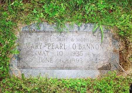 O'BANNON, MARY PEARL - Benton County, Arkansas   MARY PEARL O'BANNON - Arkansas Gravestone Photos