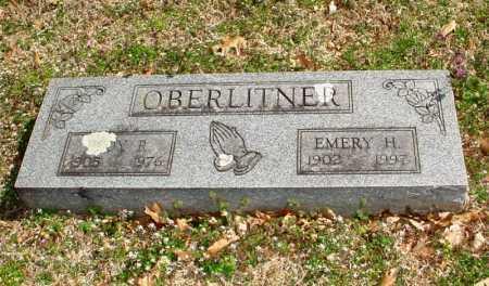 OBERLITNER, EMERY H. - Benton County, Arkansas | EMERY H. OBERLITNER - Arkansas Gravestone Photos