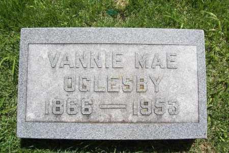 OGLESBY, VANNIE MAE - Benton County, Arkansas   VANNIE MAE OGLESBY - Arkansas Gravestone Photos