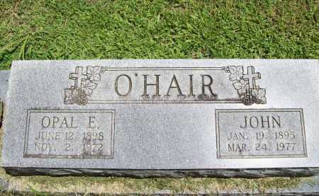 O'HAIR, OPAL E. - Benton County, Arkansas | OPAL E. O'HAIR - Arkansas Gravestone Photos