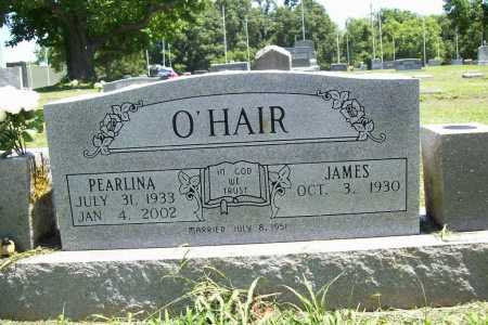 O'HAIR, PEARLINA - Benton County, Arkansas | PEARLINA O'HAIR - Arkansas Gravestone Photos