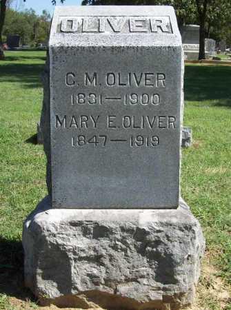 OLIVER, MARY ELIZABETH - Benton County, Arkansas | MARY ELIZABETH OLIVER - Arkansas Gravestone Photos