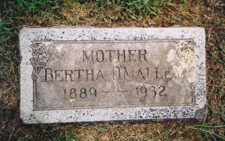 O'MALLEY, BERTHA MARJORIE - Benton County, Arkansas | BERTHA MARJORIE O'MALLEY - Arkansas Gravestone Photos