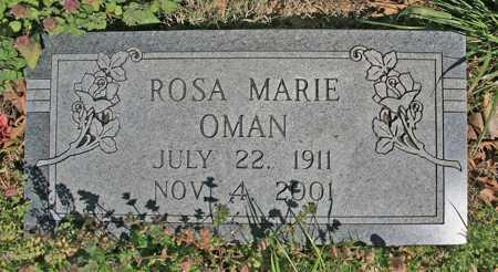 OMAN, ROSA MARIE - Benton County, Arkansas | ROSA MARIE OMAN - Arkansas Gravestone Photos