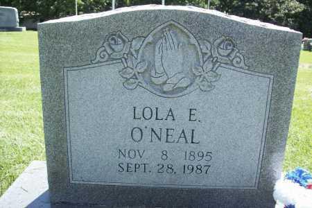 O'NEAL, LOLA E. - Benton County, Arkansas | LOLA E. O'NEAL - Arkansas Gravestone Photos