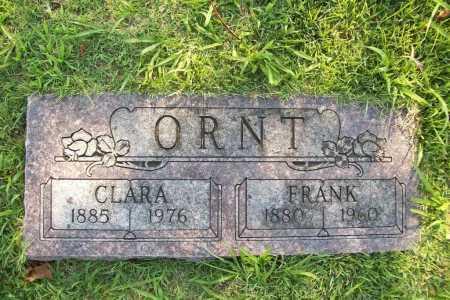 ORNT, CLARA - Benton County, Arkansas | CLARA ORNT - Arkansas Gravestone Photos
