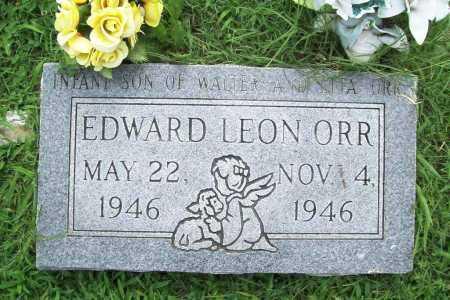 ORR, EDWARD LEON - Benton County, Arkansas   EDWARD LEON ORR - Arkansas Gravestone Photos
