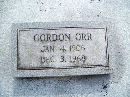 ORR, GORDON - Benton County, Arkansas | GORDON ORR - Arkansas Gravestone Photos