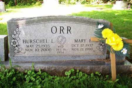 ORR, MARY ELIZABETH - Benton County, Arkansas | MARY ELIZABETH ORR - Arkansas Gravestone Photos