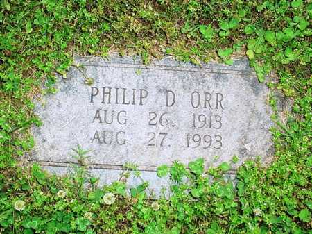 ORR, PHILIP D. - Benton County, Arkansas | PHILIP D. ORR - Arkansas Gravestone Photos
