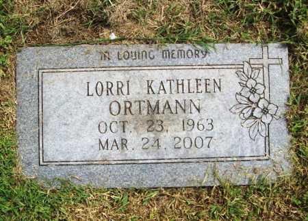 ELLSWORTH ORTMANN, LORRI KATHLEEN - Benton County, Arkansas   LORRI KATHLEEN ELLSWORTH ORTMANN - Arkansas Gravestone Photos