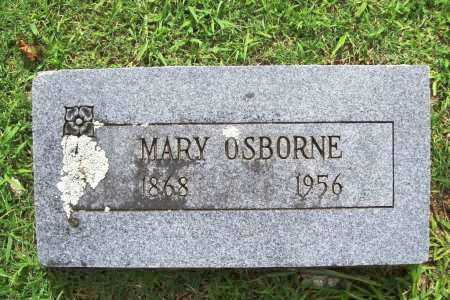 OSBORNE, MARY - Benton County, Arkansas | MARY OSBORNE - Arkansas Gravestone Photos