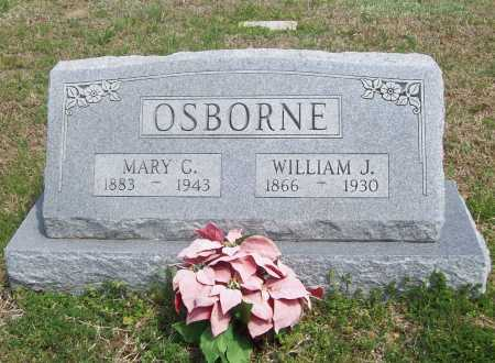 CLANTON OSBORNE, MARY - Benton County, Arkansas | MARY CLANTON OSBORNE - Arkansas Gravestone Photos