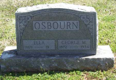 OSBOURN, GEORGE M. - Benton County, Arkansas | GEORGE M. OSBOURN - Arkansas Gravestone Photos