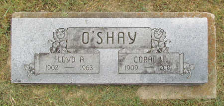 O'SHAY, FLOYD A - Benton County, Arkansas | FLOYD A O'SHAY - Arkansas Gravestone Photos