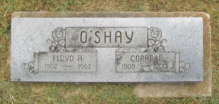 O'SHAY, CORAL V - Benton County, Arkansas | CORAL V O'SHAY - Arkansas Gravestone Photos
