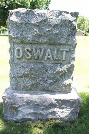 OSWALT, HEADSTONE - Benton County, Arkansas   HEADSTONE OSWALT - Arkansas Gravestone Photos