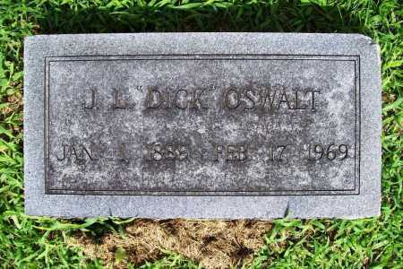 "OSWALT, J. L. ""DICK"" - Benton County, Arkansas   J. L. ""DICK"" OSWALT - Arkansas Gravestone Photos"
