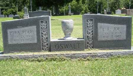 OSWALT, L. F. (JOE) - Benton County, Arkansas | L. F. (JOE) OSWALT - Arkansas Gravestone Photos