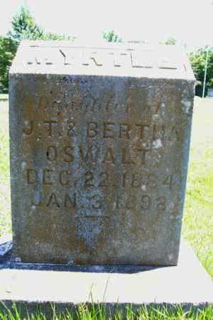 OSWALT, MYRTLE - Benton County, Arkansas   MYRTLE OSWALT - Arkansas Gravestone Photos