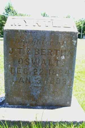 OSWALT, MYRTLE - Benton County, Arkansas | MYRTLE OSWALT - Arkansas Gravestone Photos