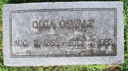 OSWALT, OLGA - Benton County, Arkansas | OLGA OSWALT - Arkansas Gravestone Photos