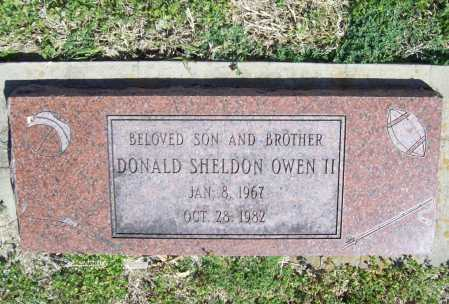 OWEN, DONALD SHELDON II - Benton County, Arkansas | DONALD SHELDON II OWEN - Arkansas Gravestone Photos