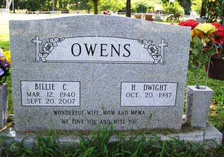 OWENS, BILLIE C. - Benton County, Arkansas   BILLIE C. OWENS - Arkansas Gravestone Photos