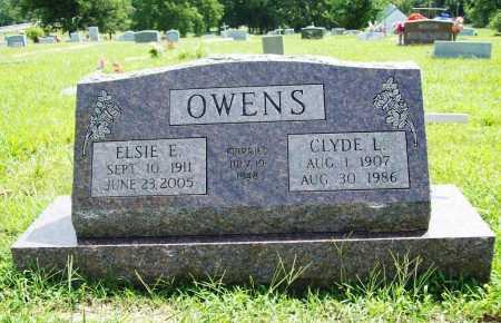 OWENS, ELSIE E. - Benton County, Arkansas | ELSIE E. OWENS - Arkansas Gravestone Photos
