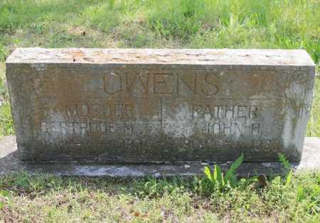 OWENS, GERTRUDE M. - Benton County, Arkansas | GERTRUDE M. OWENS - Arkansas Gravestone Photos