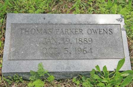 OWENS, THOMAS PARKER - Benton County, Arkansas | THOMAS PARKER OWENS - Arkansas Gravestone Photos